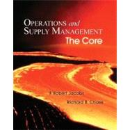 Operations and Supply Management: The Core with Student DVD-ROM:
