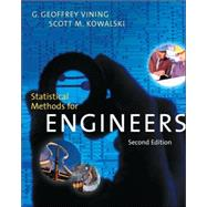 Statistical Methods for Engineers (with CD-ROM)