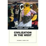Civilization in the West, Penguin Academic Edition, Volume 2
