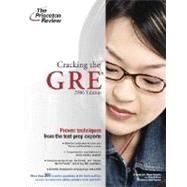 Cracking the GRE, 2006