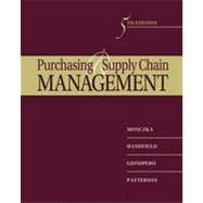 Purchasing and Supply Chain Management, 5th Edition