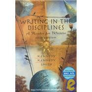 Writing in the Disciplines: A Reader for Writers