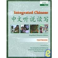 Integrated Chinese Level 1, Pt 2, 2nd Ed