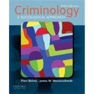 Criminology A Sociological Approach