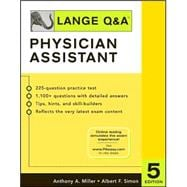 Lange Q&A: Physician Assistant, Fifth Edition
