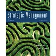 Strategic Management Theory : An Integrated Approach