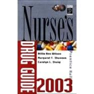 Prentice Hall Nurse's Drug Guide 2003, ValuePack (Book with CD-ROM)