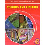 Students and Research : Practical Strategies for Science Classrooms and Competitions
