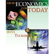 Microeconomics for Today with X-tra! CD-ROM and InfoTrac College Edition