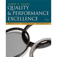 Quality & Performance Excellence, 6th Edition
