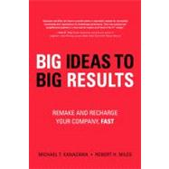 Big Ideas to Big Results : Remake and Recharge Your Company, Fast