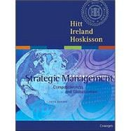 Strategic Management : Competitiveness and Globalization Concepts with Infotrac College Edition