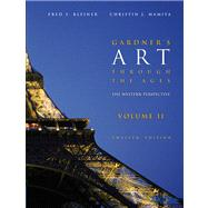 Gardner's Art through the Ages The Western Perspective, Volume II (with ArtStudy CD-ROM 2.1, Western)