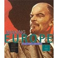 Making Europe People, Politics, and Culture, Volume II: Since 1550