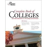 Complete Book of Colleges, 2006