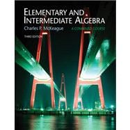 Elementary and Intermediate Algebra, Non-media Edition