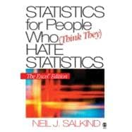 Statistics for People Who (Think They) Hate Statistics; The Excel Edition