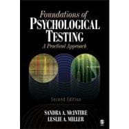 Foundations of Psychological Testing; A Practical Approach
