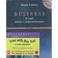 Business Its Legal, Ethical, and Global Environment with InfoTrac College Edition