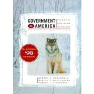 Government in America : People, Politics, and Policy: Election Version