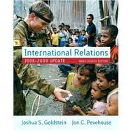 International Relations, 2008-2009 Update, Brief Edition Value Pack (includes MyPoliSciKit Student Access  for International Relations and Comparative Politics  & Readings in International Relations)