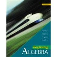 Beginning Algebra with SMART CD-ROM, Windows Package