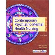 Contemporary Psychiatric-Mental Health Nursing