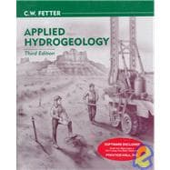 Applied Hydrogeology/Book and Disk