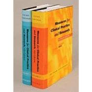 Measures for Clinical Practice and Research A Sourcebook Two-volume Set