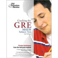 Cracking the GRE Math Test, 3rd Edition