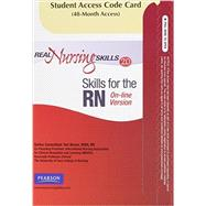Real Nursing Skills 2.0 for Skills -- Access Card -- for the RN Online Version