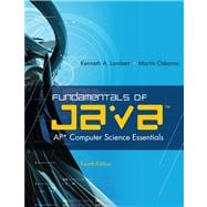 Fundamentals of Java� AP* Computer Science Essentials