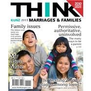 THINK Marriages and Families Census Update Plus NEW MyFamilyLab with eText -- Access Card Package