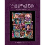 Social Welfare Policy and Social Programs A Values Perspective