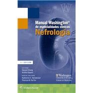Manual Washington de especialidades cl�nicas. Nefrolog�a