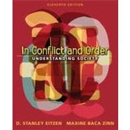 In Conflict and Order : Understanding Society
