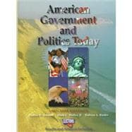 American Government and Politics Today 1997-98 Edition