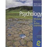 Psychology : Modules for Active Learning with Concept Modules with Note-Taking and Practice Exams