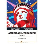 American Literature, Volume II (Penguin Academics Series) with NEW MyLiteratureLab -- Access Card Package