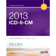 2013 ICD-9-CM for Hospitals, Volumes 1, 2 & 3 (Professional Edition, Spiral Bound)