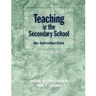 Teaching in the Secondary School: An Introduction