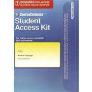 CourseCompass Access Code Card for Medical Language
