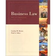 Business Law: With UCC Aplications