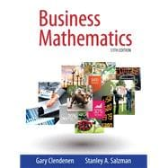 Business Mathematics, 13/e