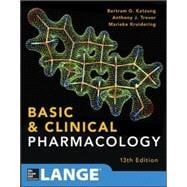 Basic and Clinical Pharmacology 13 E