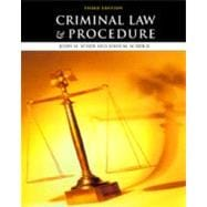 Criminal Law and Procedure (3rd)