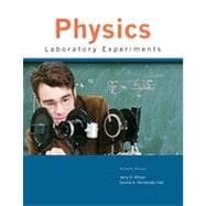 Physics Laboratory Experiments, 7th Edition