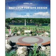 Sketchup for Site Design