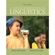 Concise Introduction to Linguistics, A Plus MySearchLab with eText -- Access Card Package