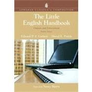 Little English Handbook, The: Choices and Conventions, Longman Classics Edition